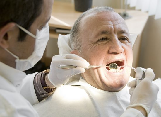 A-man-in-a-dental-surgery
